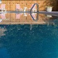 Swimming pool at Alpenhof Lodge