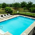 Swimming pool at Ambassador Inn & Suites