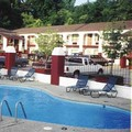 Swimming pool at America's Best Inn Vicksburg Hotel