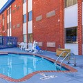 Swimming pool at Americas Best Value Inn Irving / Dallas