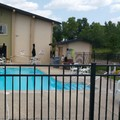 Swimming pool at Americas Best Value Inn Madison