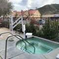 Swimming pool at Americas Best Value Inn Mariposa Lodge