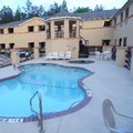 Swimming pool at America's Best Value Inn & Suites