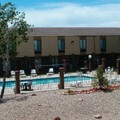 Swimming pool at Americas Best Value Inn & Suites
