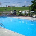 Swimming pool at Americas Best Value Inn & Suites Knoxville North