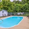 Swimming pool at Americas Best Value Inn & Suites / Lookout Mountain West