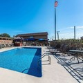 Swimming pool at Americas Best Value Inn & Suites St. Marys