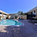 Swimming pool at Americas Best Value Inn & Suites Texas City / La Marque