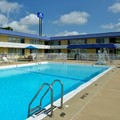 Swimming pool at Americas Best Value Inn Vandalia