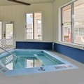 Swimming pool at Americas Best Value Inn of Mackinaw City