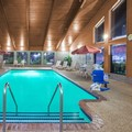 Swimming pool at Americinn Cedarfalls