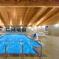 Swimming pool at Americinn Lodge & Suites Okoboji