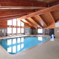 Swimming pool at Americinn Lodge & Suites of Cedar Rapids Iowa
