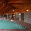 Swimming pool at Americinn Merrill