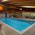 Swimming pool at Americinn of Iron River