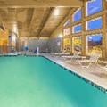 Swimming pool at Americinn of Rhinelander