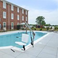 Swimming pool at Appomattox Inn & Suites