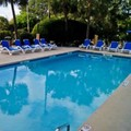 Swimming pool at Aqua Beach Inn