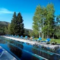 Swimming pool at Aspen Meadows Resort