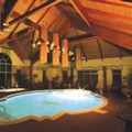 Swimming pool at Auberge Godefroy