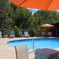 Swimming pool at Baechtel Creek Inn & Spa