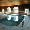 Swimming pool at Bay Inn Tawas