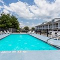 Swimming pool at Baymont Inn & Suites Eden