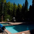 Swimming pool at Bear Creek Lodge