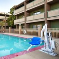 Swimming pool at Best Western Forest Park Inn