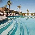 Swimming pool at Best Western Gardens Hotel at Joshua Tree National Park