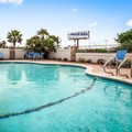 Swimming pool at Best Western George West Executive Inn