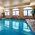 Swimming pool at Best Western Monroe Inn & Suites