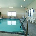 Swimming pool at Best Western Mt. Pleasant Inn