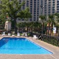 Swimming pool at Best Western Oak Manor