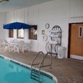 Swimming pool at Best Western Oglesby Inn