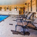 Swimming pool at Best Western Parsons Inn