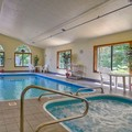 Swimming pool at Best Western Plaza Hotel Saugatuck