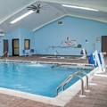 Swimming pool at Best Western Plus Philadelphia Bensalem Hotel