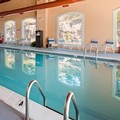 Swimming pool at Best Western Plus Poconos Hotel