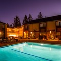 Swimming pool at Best Western Plus Truckee Tahoe Hotel