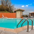 Swimming pool at Best Western Willits Inn