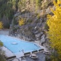 Swimming pool at Bighorn Meadows Resort