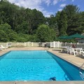 Swimming pool at Blackberry River Inn