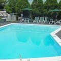 Swimming pool at Blue Spruce Motel & Townhouses