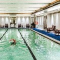 Swimming pool at Boston Harbor Hotel