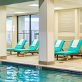 Swimming pool at Boston Marriott Newton