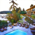 Swimming pool at Brentwood Bay Resort & Spa