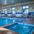 Swimming pool at Bridgepointe Inn & Suites Toledo / Perrysburg