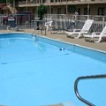 Swimming pool at Budget Host Inn