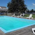 Swimming pool at Canadas Best Value Inn & Suites